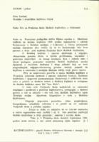 prikaz prve stranice dokumenta Zašto DA za Proljetnu školu školskih knjižničara u Crikvenici
