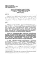 """prikaz prve stranice dokumenta Mogućnosti suradnje između Gradske i sveučilišne knjižnice Osijek i Županijske knjižnice """"Csorba Gyoso"""" Pečuh : priča o dva grada"""